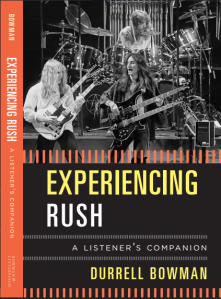 Experiencing Rush - front cover (Rush playing live in the late 1970s)
