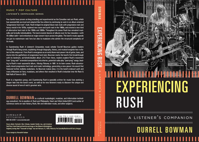 Experiencing Rush - full cover