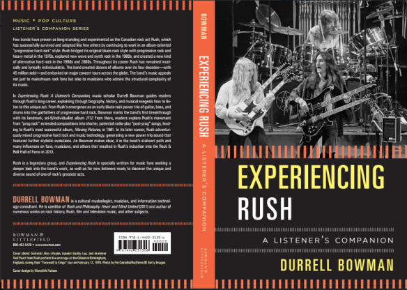 Experiencing Rush - full cover