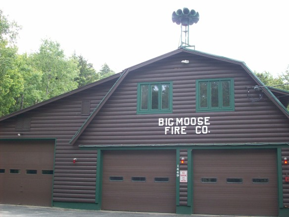 Big Moose Fire Station