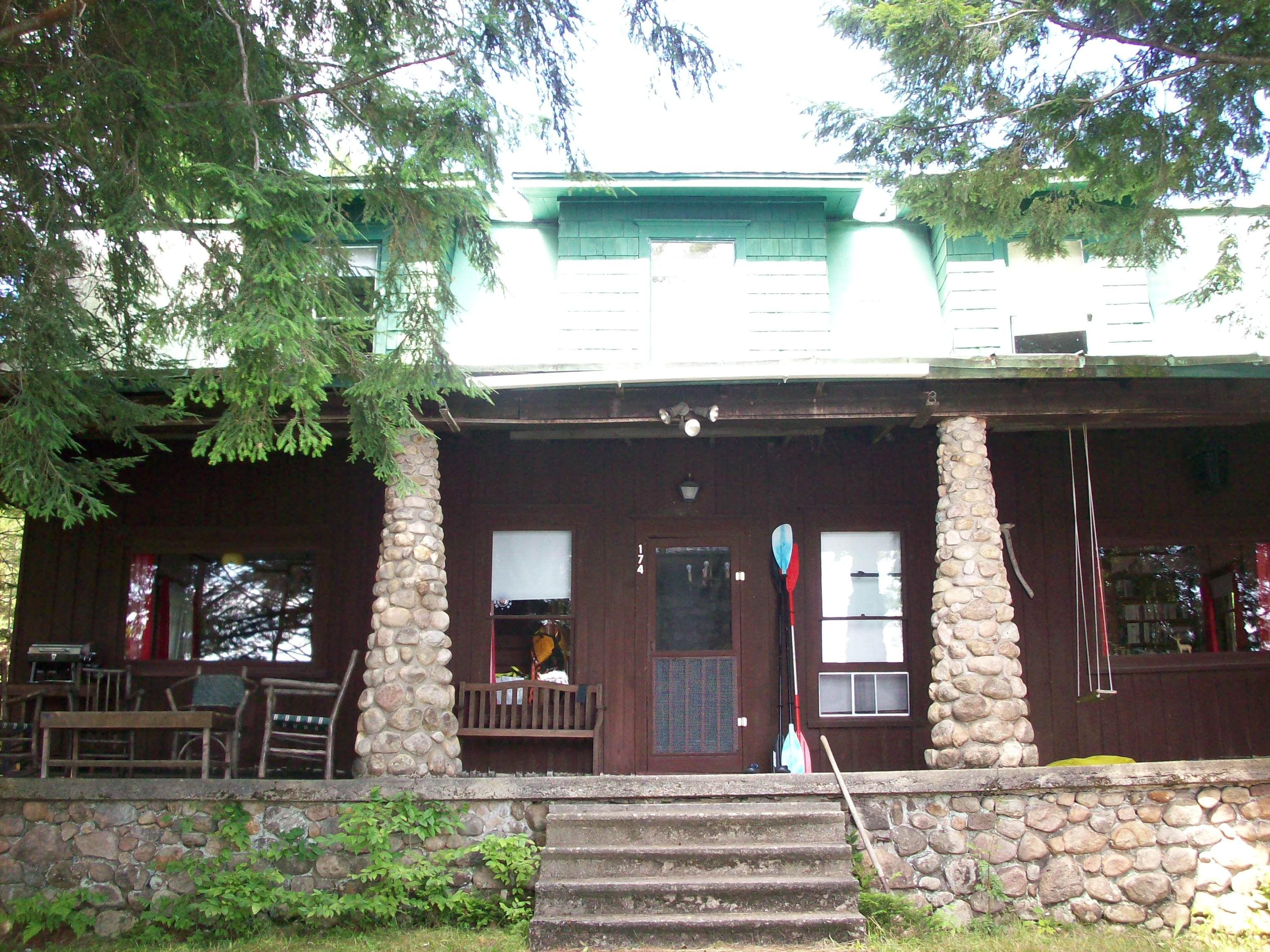 the Lucas/Orvis cottage at Big Moose Lake