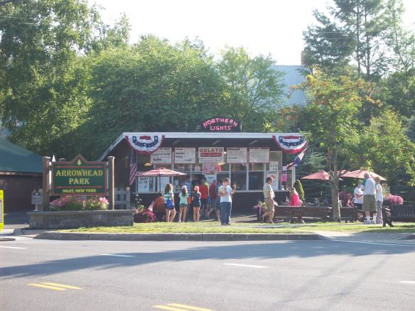 an excellent ice cream shop in Inlet